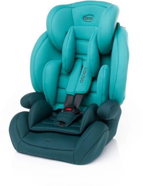 4BABY ASPEN 9-36kg Bērnu autosēdeklis TURKUS