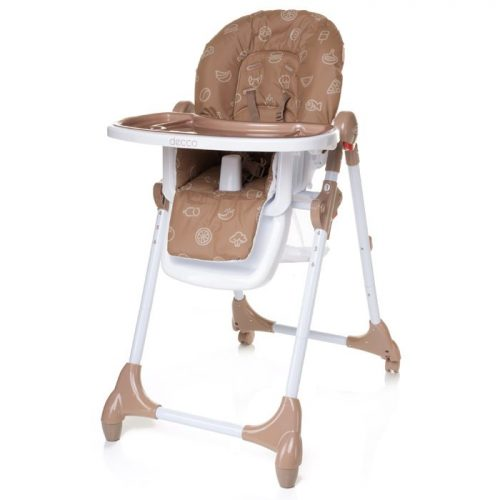 4BABY DECCO barošanas krēsls BROWN