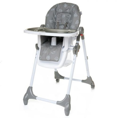 4BABY DECCO barošanas krēsls – GREY