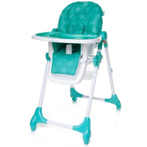 4BABY DECCO barošanas krēsls – TURKUS