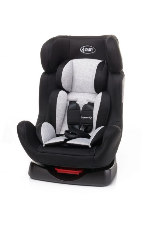 4BABY FREEWAY 0-25kg Bērnu autosēdeklis BLACK