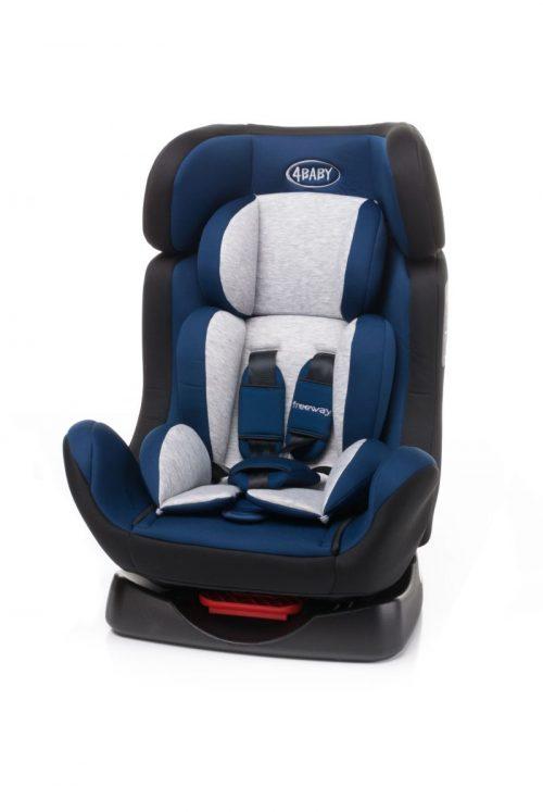 4BABY FREEWAY 0-25kg Bērnu autosēdeklis NAVY BLUE