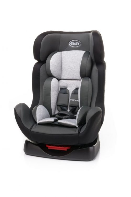 4BABY FREEWAY 0-25kg Bērnu autosēdeklis GREY