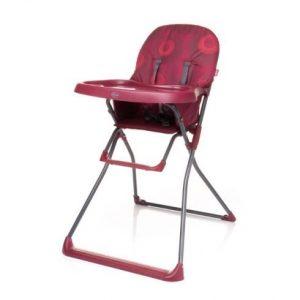 4BABY Flower barošanas krēsls dark red