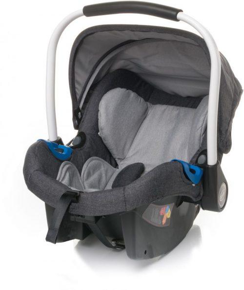 4BABY GALAX 0-13kg Bērnu autosēdeklis DARK GREY