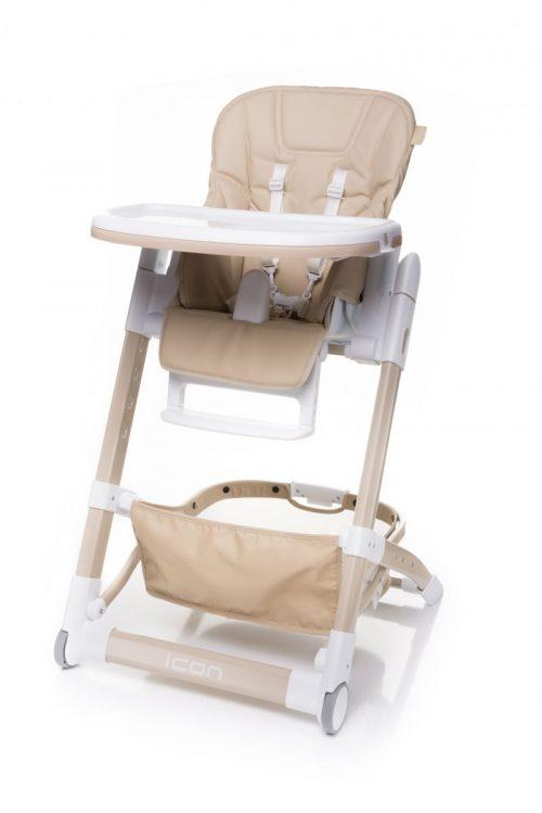 4BABY ICON barošanas krēsliņš BEIGE