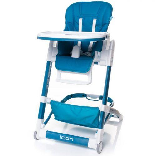 4BABY ICON barošanas krēsliņš – BLUE