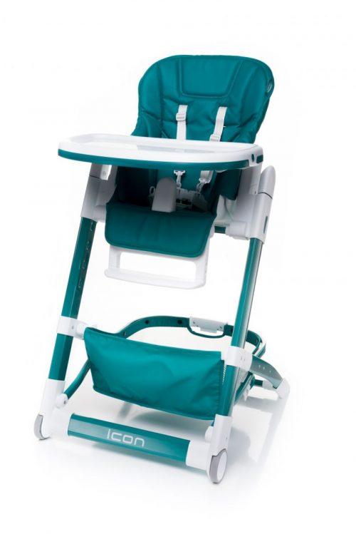 4BABY ICON barošanas krēsliņš TURKUS