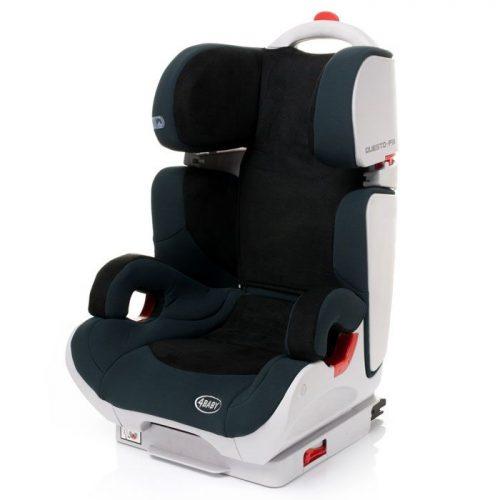 4BABY QUESTO-FIX 15-36kg Bērnu autosēdeklis – Black