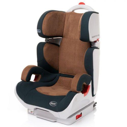 4BABY QUESTO-FIX 15-36kg Bērnu autosēdeklis – Brown