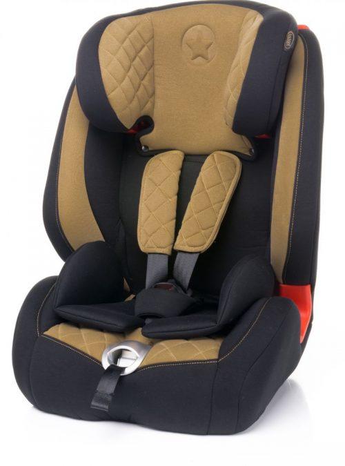 4BABY STAR-FIX 9-36kg Bērnu autosēdeklis – BEIGE