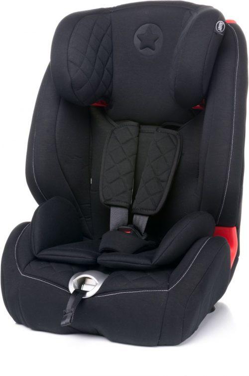4BABY STAR-FIX 9-36kg Bērnu autosēdeklis – BLACK