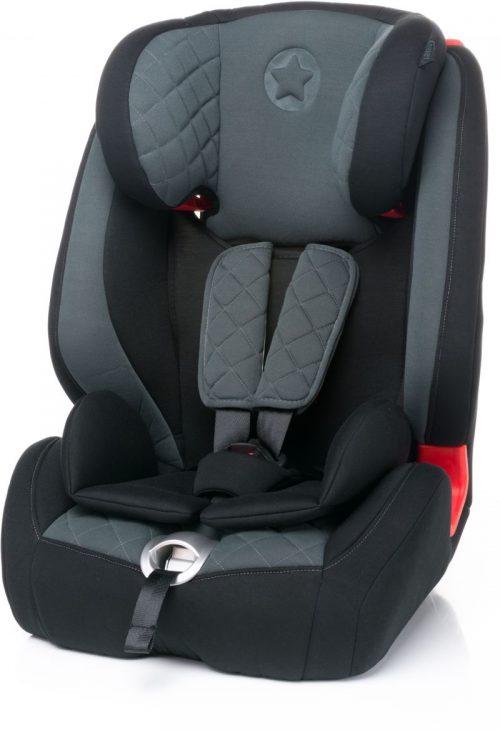 4BABY STAR-FIX 9-36kg Bērnu autosēdeklis – DARK GREY