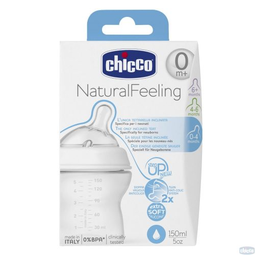 CHICCO STEP UP PUDELE, 0M+, 150ML