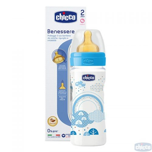 CHICCO WELL BEING PUDELĪTE 250ML (ZILA)