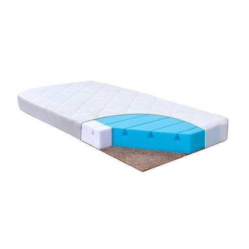 BABYMATEX COLORADO matracis poliuretāna putas – kokosšķiedra 120x60x10cm
