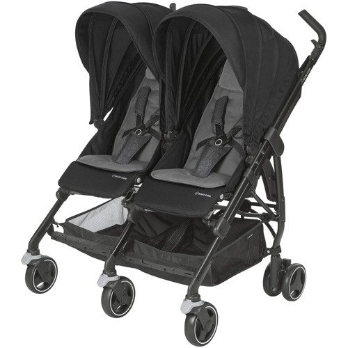 Maxi-Cosi DANA For2 bērnu ratiņi,nomad black