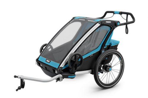 Bērnu rati – velo piekabe Thule Chariot Sport2, Blue