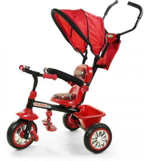 ELGROM Bērnu trīsritenis – 0031 B31 sarkans