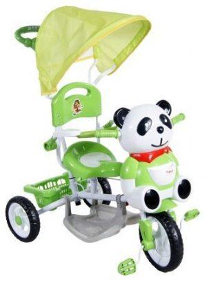 ELGROM Bērnu trīsritenis Panda A23/J23 – GREEN