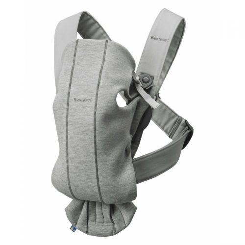 BABYBJÖRN kengursoma Mini, Light Grey, 3D Jersey