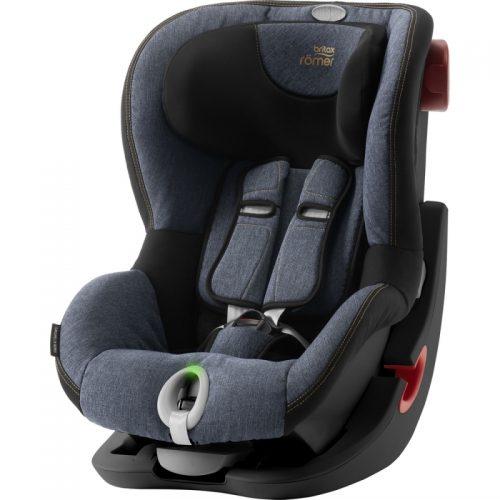 BRITAX autokrēsls KING II LS BR BLACK SERIES Blue Marble ZR, 2000027858