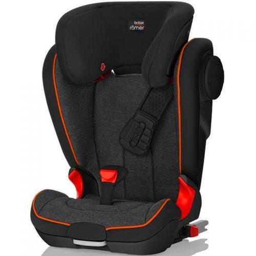 BRITAX autokrēsls Kidfix II XP SICT Black Marble BLS 2000025252