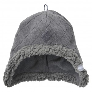 LODGER HATTER FLEECE SCANDINAVIAN CEPURE, 3-6 MĒN., COAL (ARTIKULS: HT 577_3-6)