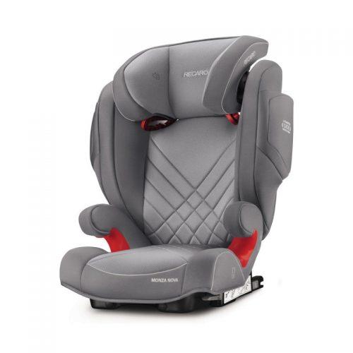 RECARO autokrēsls Monza Nova 2 Seatfix Aluminium Grey
