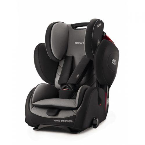 RECARO autokrēsls Young Sport Hero Carbon Black 9-36kg