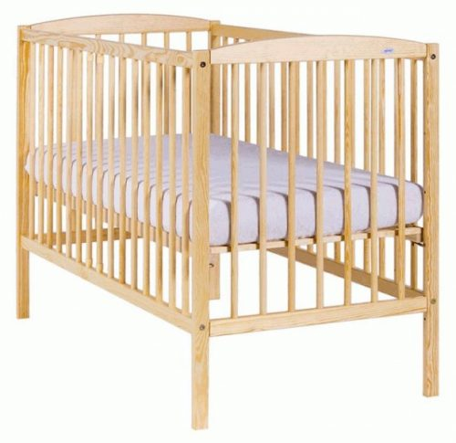 DREWEX KUBA bērnu gulta 120×60, priede