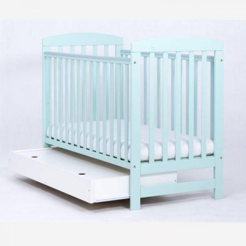 DREWEX OLEK bērnu gulta +KASTE 120×60, MINT