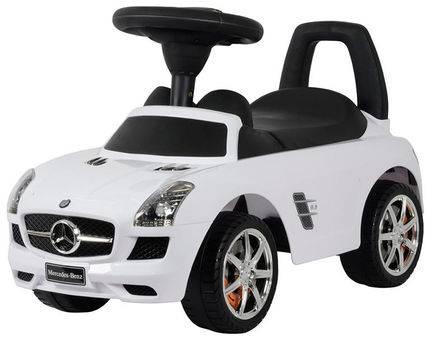 BABY MIX Bērnu stumjamā mašīna MERCEDES-BENZ Z332 balta