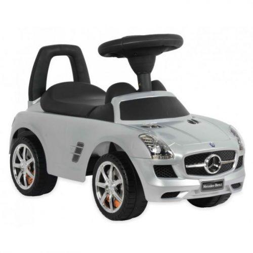 BABY MIX Bērnu stumjamā mašīna MERCEDES-BENZ Z332 sudrabs