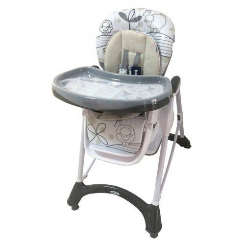 BABY MIX barošanas krēsls UR-YQ-198 aitiņas DARK GREY