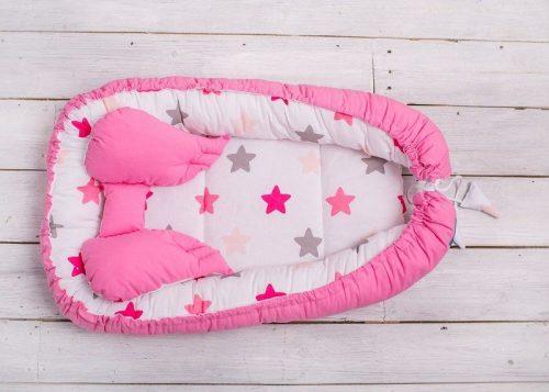 BELISIMA Zīdaiņa ligzdiņa, P01-730, rozā