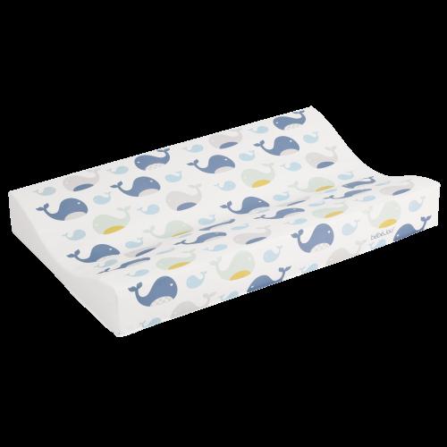 Bebejou pārtinamais matracis,wally whale  72x74x9cm