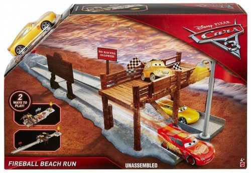 MATTEL CARS 3 autotrase STORY PLAYSET