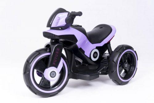 Elektro motocikls ELGROM Police Future Bike SW-0198A 6V/7Ah, violets