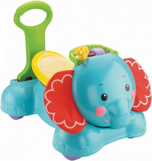FISHER PRICE BOUNCE STRIDE & RIDE ELEPHANT