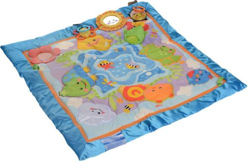 FISHER PRICE FRIENDLY FIRSTS DISCOVERY PLAYQUILT