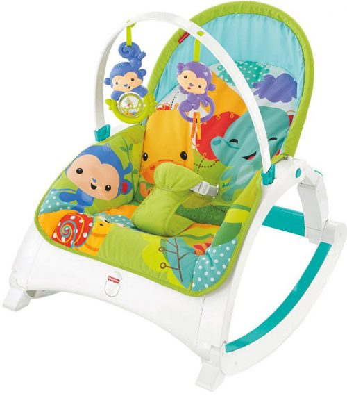 FISHER PRICE šūpuļkrēsls  RAINFOREST FRIENDS