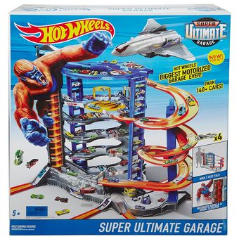 MATTEL HOT WHEELS  lielā trase SUPER ULTIMATE GARAGE PLAY