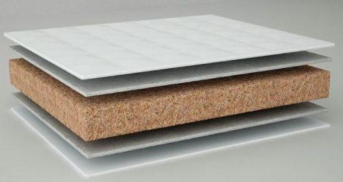 Matracis Danpol 160×70 kokosšķiedra