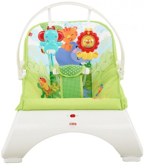 Fisher Price krēsliņš Rainforest Friends Comfort Curve Bouncer