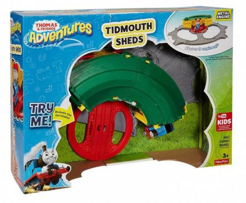 Thomas & Friends dzelzceļš Thomas Adventure Deluxe  Tidmouth Sheds
