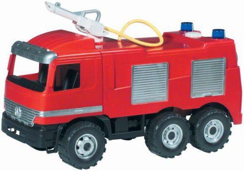 LENA Liela Ugunsdzēsēju Mašīna  MAXI Ar Ūdens Pumpi, 64cm, Slodze 100kg L02028