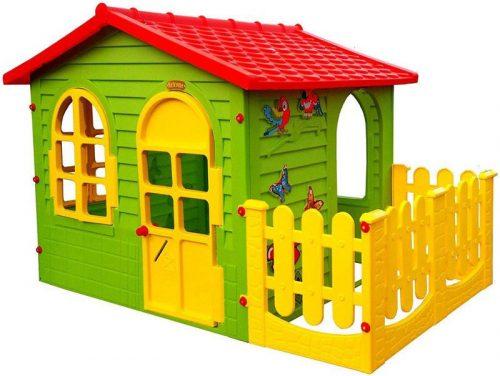 Mochtoys Dārza mājiņa  jautrām rotaļām bērniem  1,9×1,27×1,18