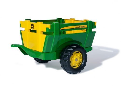 Rolly Toys Piekabe traktoriem rollyFarm Trailer John Deere 122103 Vācija