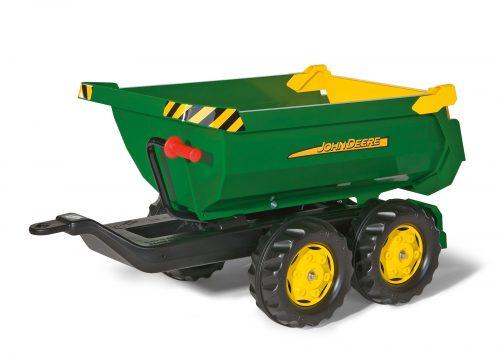 Rolly Toys Piekabe traktoriem rollyHalfpipe John Deere 122165 Vācija